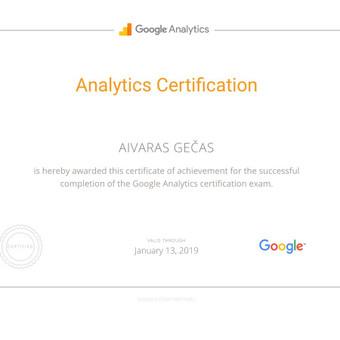 Sertifikuota Google Adwords, FB Reklama / Aivaras / Darbų pavyzdys ID 298905