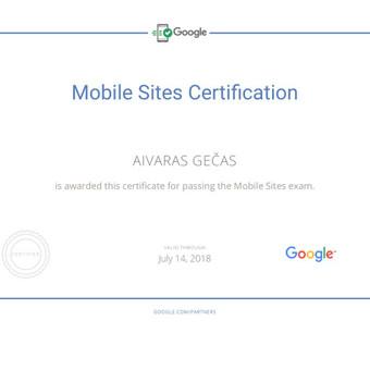 Sertifikuota Google Adwords, FB Reklama / Aivaras / Darbų pavyzdys ID 298907