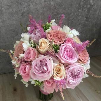 Vestuvinė floristika / Arina / Darbų pavyzdys ID 302331