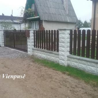 Tvoros, Vartai, Varteliai, Betonavimas / Dovydas Sagurskis / Darbų pavyzdys ID 302425