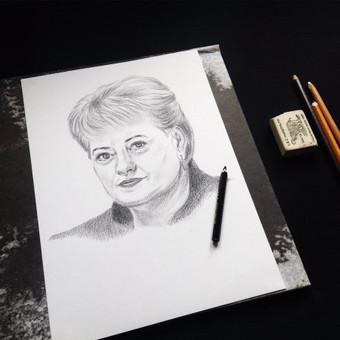 Portretai, tapyba, piešimas / Monika / Darbų pavyzdys ID 302955
