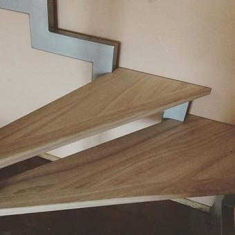 Durys, laiptai, staliu gaminiai. / Andrius Tomelis / Darbų pavyzdys ID 304087