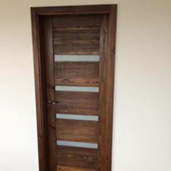 Durys, laiptai, staliu gaminiai. / Andrius Tomelis / Darbų pavyzdys ID 304099