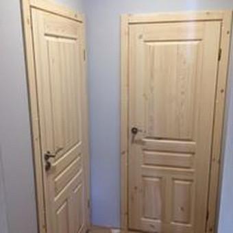Durys, laiptai, staliu gaminiai. / Andrius Tomelis / Darbų pavyzdys ID 304101