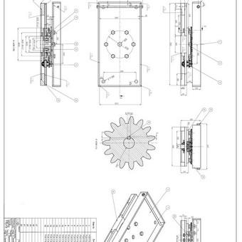 Braižytojas (Autocad,Solidworks,2d, 3d) / Linas Daukintis / Darbų pavyzdys ID 304695