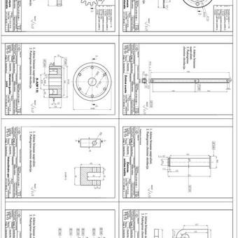 Braižytojas (Autocad,Solidworks,2d, 3d) / Linas Daukintis / Darbų pavyzdys ID 304699