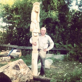 Skulptorius , meno kūrėjo statusas 2005 / Remigijus Šležas / Darbų pavyzdys ID 305025