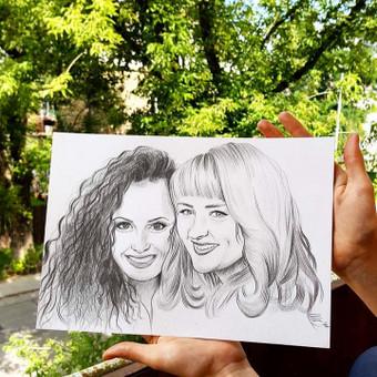 Portretai, tapyba, piešimas / Monika / Darbų pavyzdys ID 305125