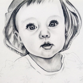 Portretai, tapyba, piešimas / Monika / Darbų pavyzdys ID 305127