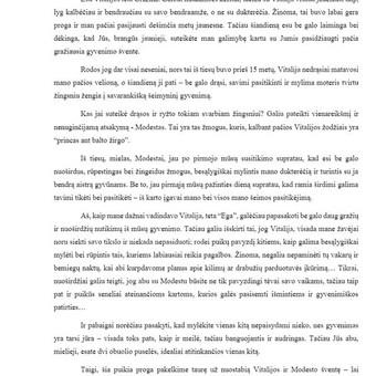 Rašto darbų konsultacijos ir profesionali pagalba / Vorso.lt / Darbų pavyzdys ID 306169
