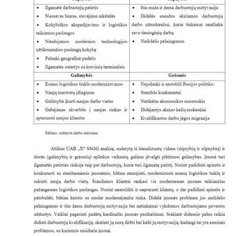 Pagalba, konsultacijos, plagiato tikrinimas / Vorso.lt / Darbų pavyzdys ID 306183