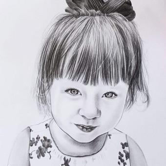 Portretai, tapyba, piešimas / Monika / Darbų pavyzdys ID 306215