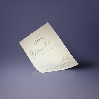 Sąskaitos faktūros maketas, INGRID juvelyrika