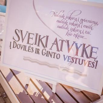Vestuvių ir visų švenčių dekoravimas / Baltos rasos / Darbų pavyzdys ID 309325