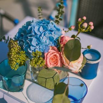 Vestuvių ir visų švenčių dekoravimas / Baltos rasos / Darbų pavyzdys ID 309327