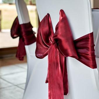 Vestuvių ir visų švenčių dekoravimas / Baltos rasos / Darbų pavyzdys ID 309337