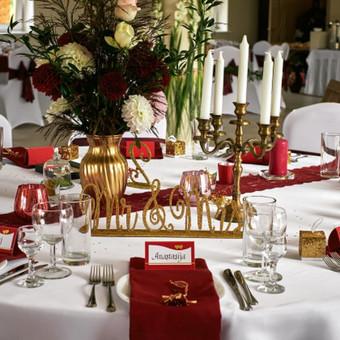Vestuvių ir visų švenčių dekoravimas / Baltos rasos / Darbų pavyzdys ID 309339