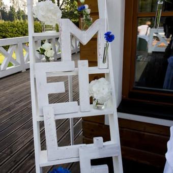 Vestuvių ir visų švenčių dekoravimas / Baltos rasos / Darbų pavyzdys ID 309357