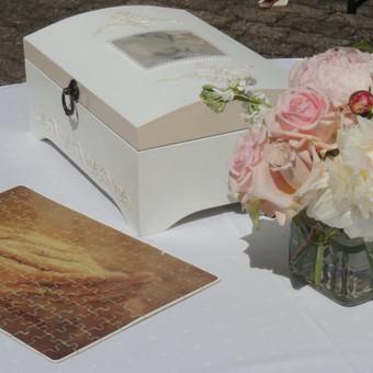 Vestuvių ir visų švenčių dekoravimas / Baltos rasos / Darbų pavyzdys ID 309361
