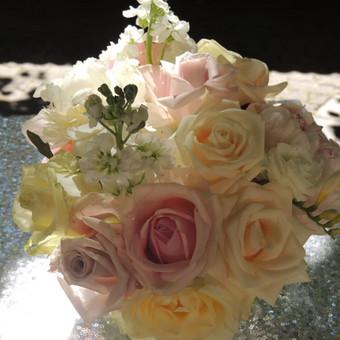 Vestuvių ir visų švenčių dekoravimas / Baltos rasos / Darbų pavyzdys ID 309369