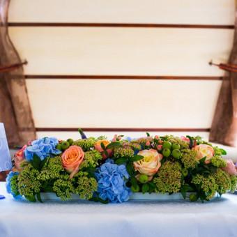 Vestuvių ir visų švenčių dekoravimas / Baltos rasos / Darbų pavyzdys ID 309389