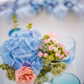 Vestuvių ir visų švenčių dekoravimas / Baltos rasos / Darbų pavyzdys ID 309393