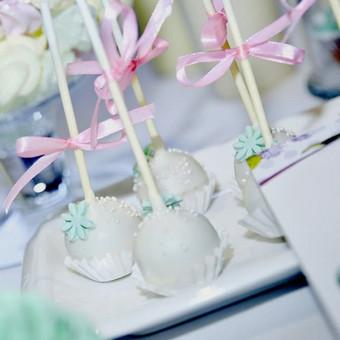 Vestuvių ir visų švenčių dekoravimas / Baltos rasos / Darbų pavyzdys ID 309395