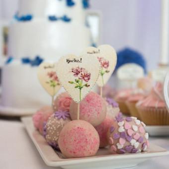 Vestuvių ir visų švenčių dekoravimas / Baltos rasos / Darbų pavyzdys ID 309397