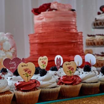 Vestuvių ir visų švenčių dekoravimas / Baltos rasos / Darbų pavyzdys ID 309403