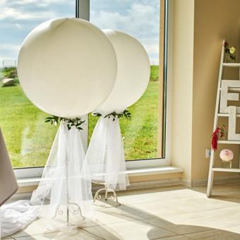 Vestuvių ir visų švenčių dekoravimas / Baltos rasos / Darbų pavyzdys ID 309415