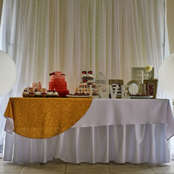 Vestuvių ir visų švenčių dekoravimas / Baltos rasos / Darbų pavyzdys ID 309421