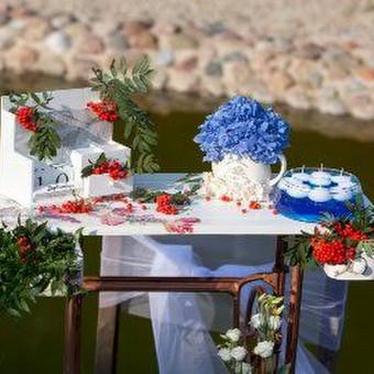 Vestuvių ir visų švenčių dekoravimas / Baltos rasos / Darbų pavyzdys ID 309433