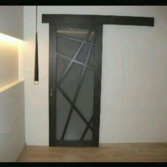 Durys, laiptai, staliu gaminiai. / Andrius Tomelis / Darbų pavyzdys ID 309713