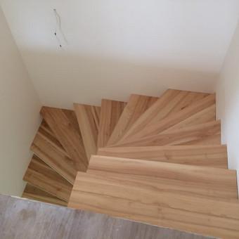 Durys, laiptai, staliu gaminiai. / Andrius Tomelis / Darbų pavyzdys ID 309715