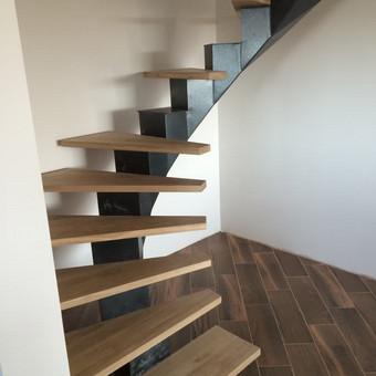 Durys, laiptai, staliu gaminiai. / Andrius Tomelis / Darbų pavyzdys ID 309719