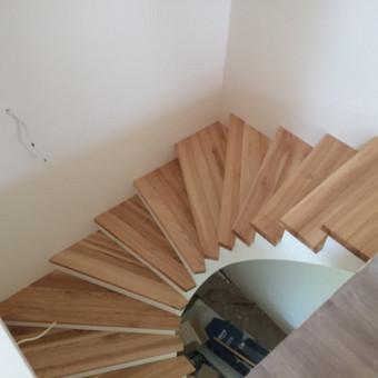 Durys, laiptai, staliu gaminiai. / Andrius Tomelis / Darbų pavyzdys ID 309721
