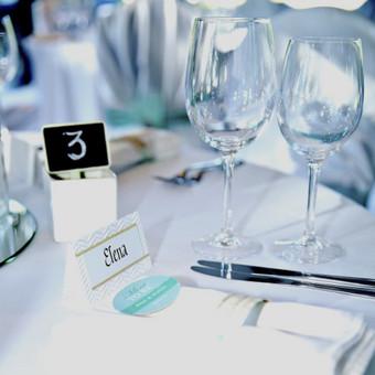 Vestuvių ir visų švenčių dekoravimas / Baltos rasos / Darbų pavyzdys ID 310901