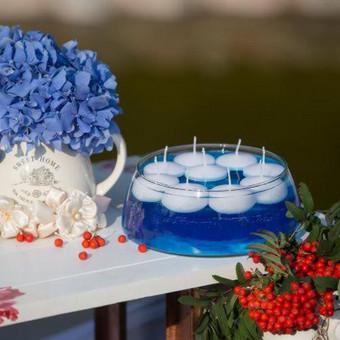 Vestuvių ir visų švenčių dekoravimas / Baltos rasos / Darbų pavyzdys ID 310925