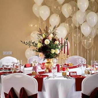 Vestuvių ir visų švenčių dekoravimas / Baltos rasos / Darbų pavyzdys ID 310933