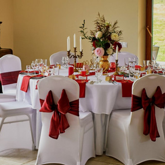 Vestuvių ir visų švenčių dekoravimas / Baltos rasos / Darbų pavyzdys ID 310955