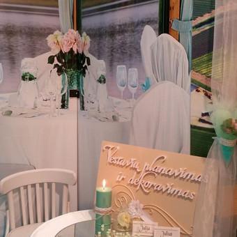 Vestuvių ir visų švenčių dekoravimas / Baltos rasos / Darbų pavyzdys ID 310963