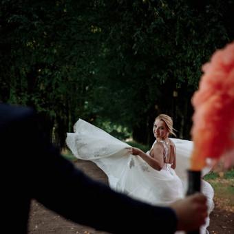 Vestuvių kainos apie 600e už 8 val / Agata Studio / Darbų pavyzdys ID 312539