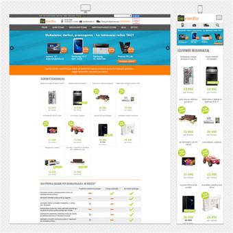Internetinių svetainių, el. parduotuvių kūrimas ir priežiūra / Elnis / Darbų pavyzdys ID 312659