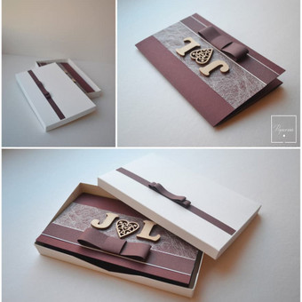 Atvirukas dėžutėje. Dydis - 110 x 160.