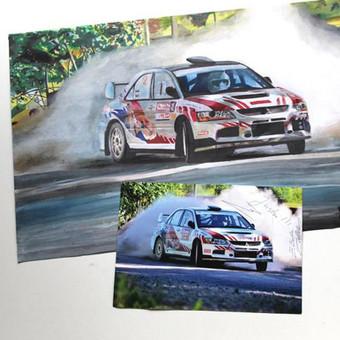 Automobilių ir kitų liustracijų piešimas / Justinas Kyga / Darbų pavyzdys ID 314769