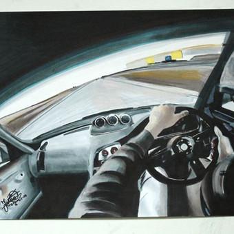 Automobilių ir kitų liustracijų piešimas / Justinas Kyga / Darbų pavyzdys ID 314773