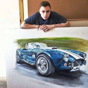 Automobilių ir kitų liustracijų piešimas / Justinas Kyga / Darbų pavyzdys ID 314793