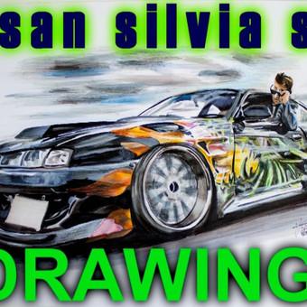 Automobilių ir kitų liustracijų piešimas / Justinas Kyga / Darbų pavyzdys ID 314805