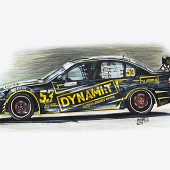 Automobilių ir kitų liustracijų piešimas / Justinas Kyga / Darbų pavyzdys ID 314809