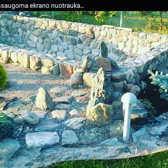 Akmens mūro darbai, Šlaitų ir pakrančių tvirtinimas,Gabion / Saulius / Darbų pavyzdys ID 315883